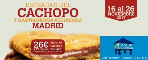Jornadas del cachopo en Madrid