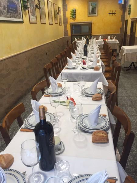 restaurante para grupos en Madrid
