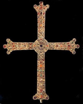 La cruz de la Victoria de Asturias en Oviedo