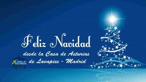 Feliz navidad en Casa de Asturias