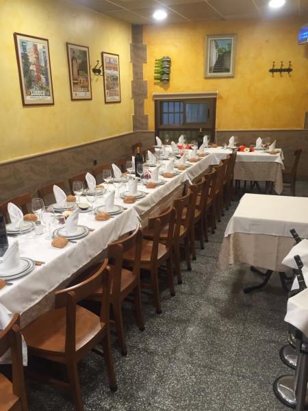 restaurante para celebraciones familiares