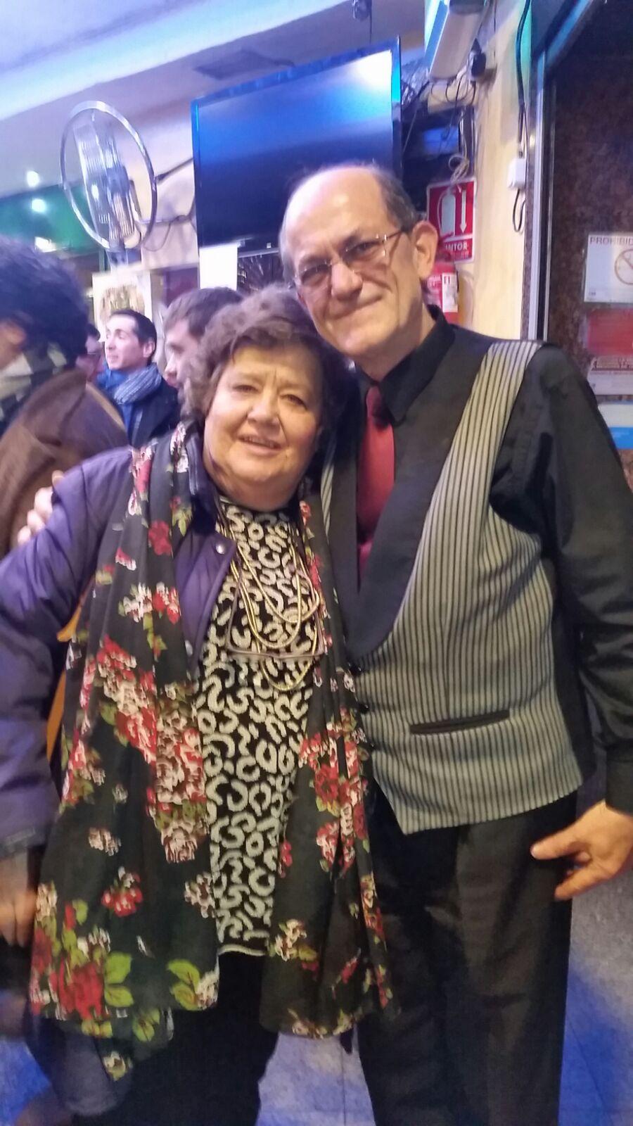 cristina almeida en restaurante asturias en madrid