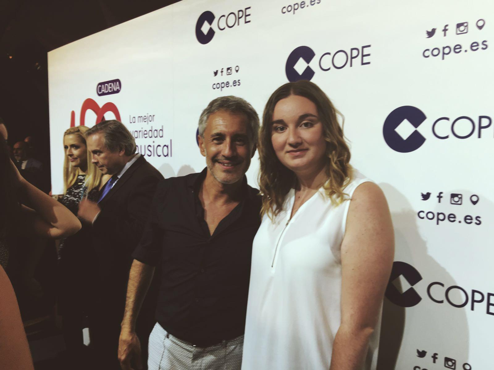 Sergio Dalma con la Casa de Asturias de Lavapies