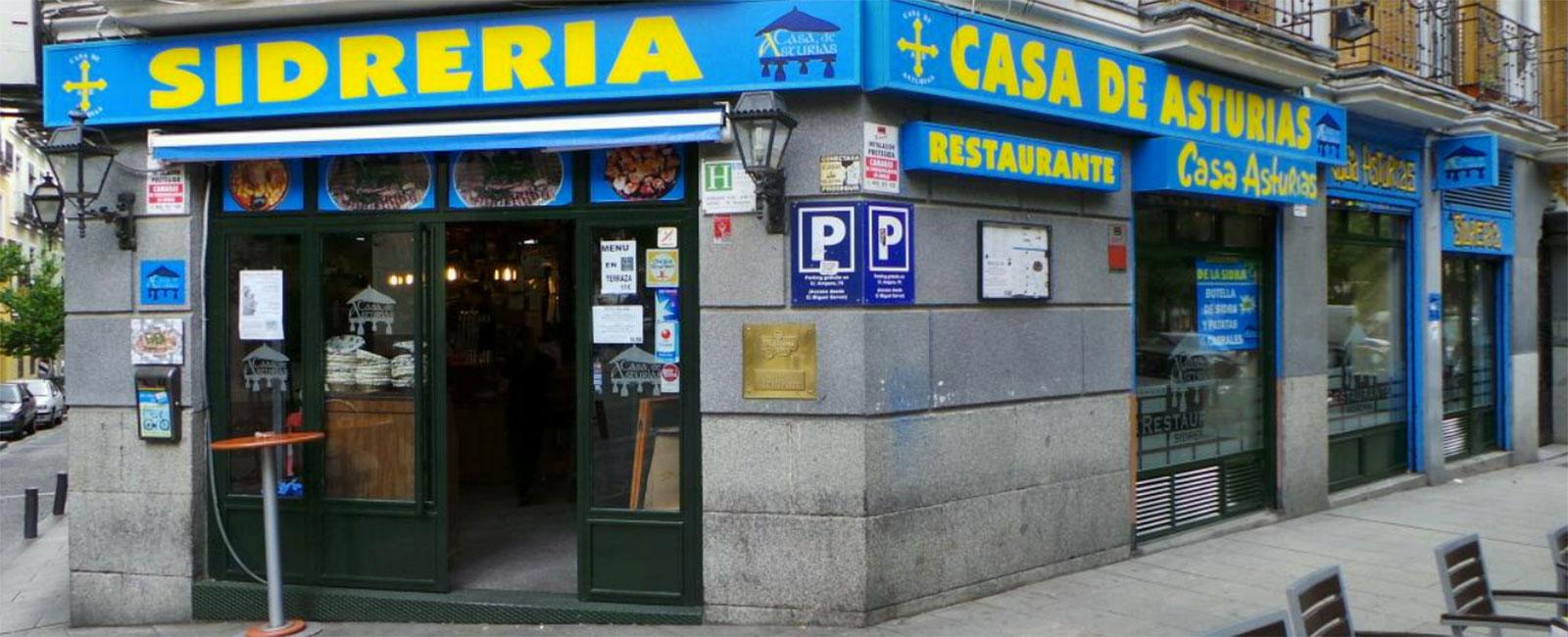 Sidreria Asturiana en Madrid