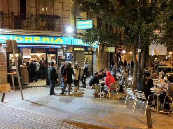 restaurante en madrid con terraza verano